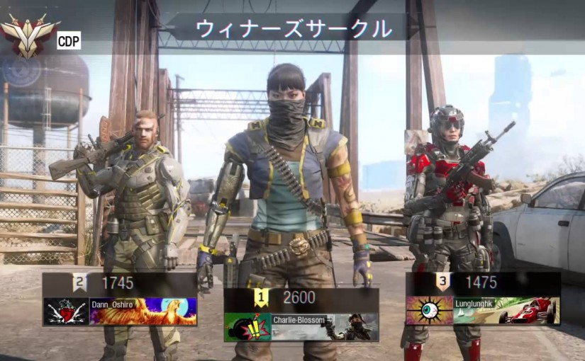 Call of Duty:Black Ops 3★休憩兼ねてちょこっとプレイ♪