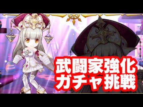 白猫プロジェクト★武闘家強化記念キャンペーンガチャ!